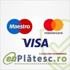 Plata online cu card bancar prin EuPlatesc
