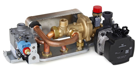 Centrala termica pe gaz condensatie ARCA PIXEL FC - grup hidraulic