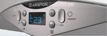 Centrala termica pe gaz in condensatie ARISTON CARES PREMIUM - panou de comanda