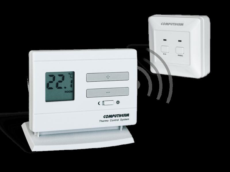 Termostat de ambient  wireless cu programare COMPUTHERM Q3 RF