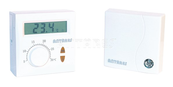 Termostat electronic cu radiofrecventa si buton rotativ ANTARES T225