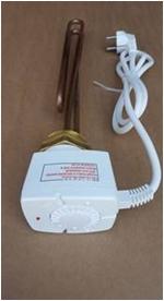 Rezistenta electrica trifazata 3 KW cu termostat