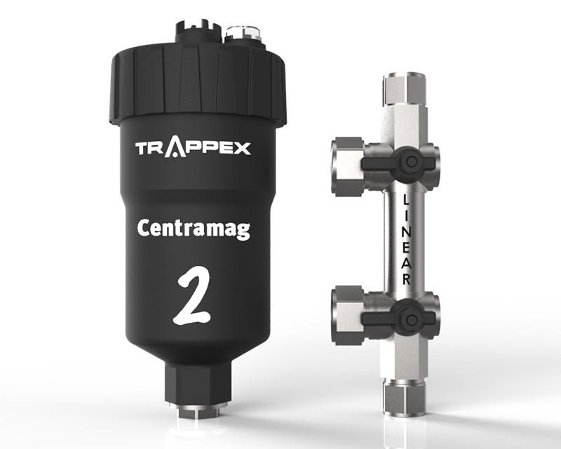 Filtru dual pentru impuritati magnetice si nemagnetice CENTRAMAG 2 INLINE DN 22 mm