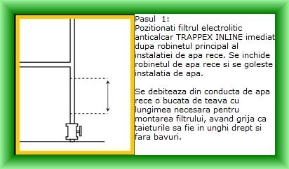 Intructiuni de montaj pasul 1
