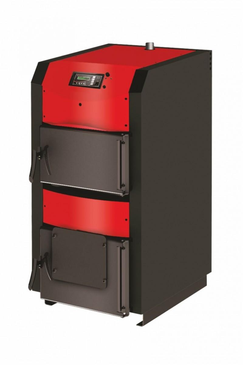 Centrala termica pe lemn cu semigazeificare BURNIT WBS Active 25 kW