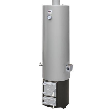 Ansamblu boiler 120 L cu focar cu usi din fonta + ELECTRIC