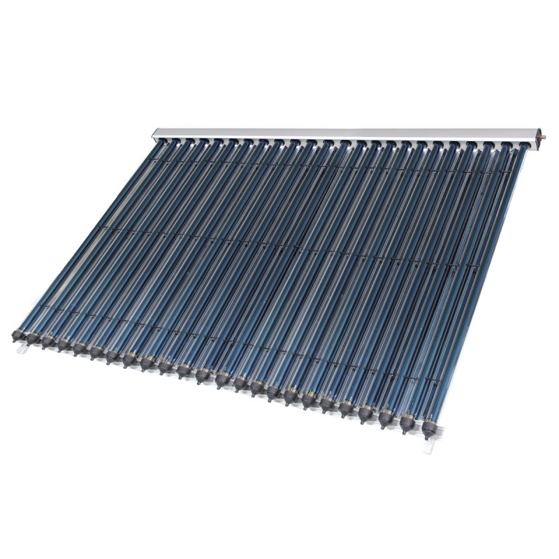 Panou solar presurizat cu 24 tuburi termice