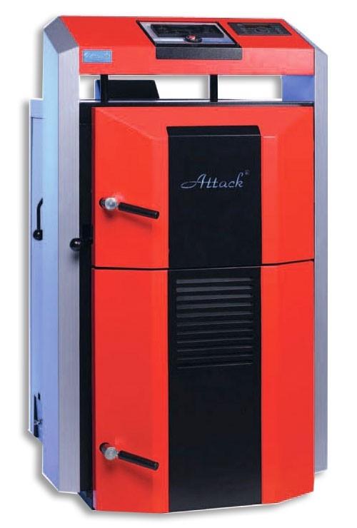 Centrala termica pe lemn cu gazeificare ATTACK 35 DP PROFI