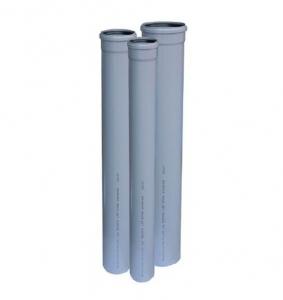 TEAVA PVC CU MUFA SI GARNITURA PT CANALIZARE GRI, D.32X1.5 mm L=1m