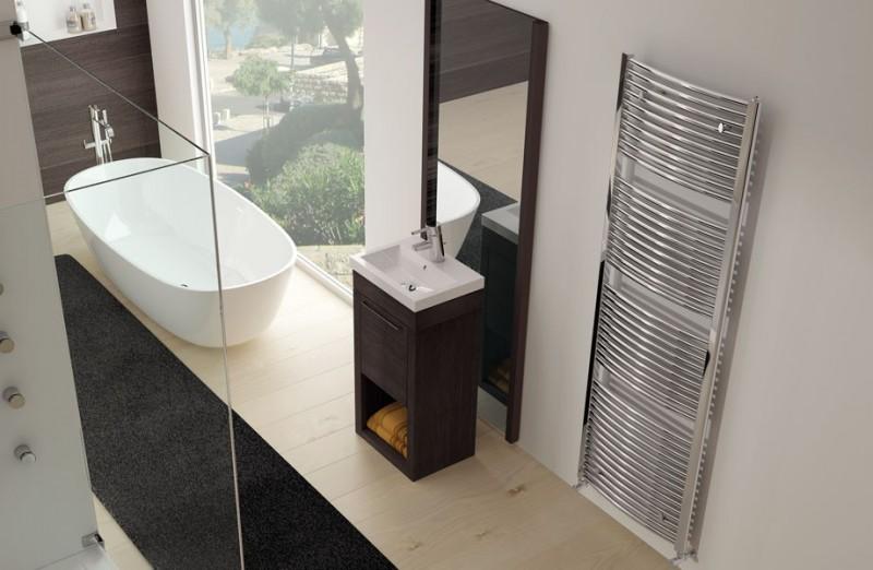 Exemplu de montaj radiator port-prosop