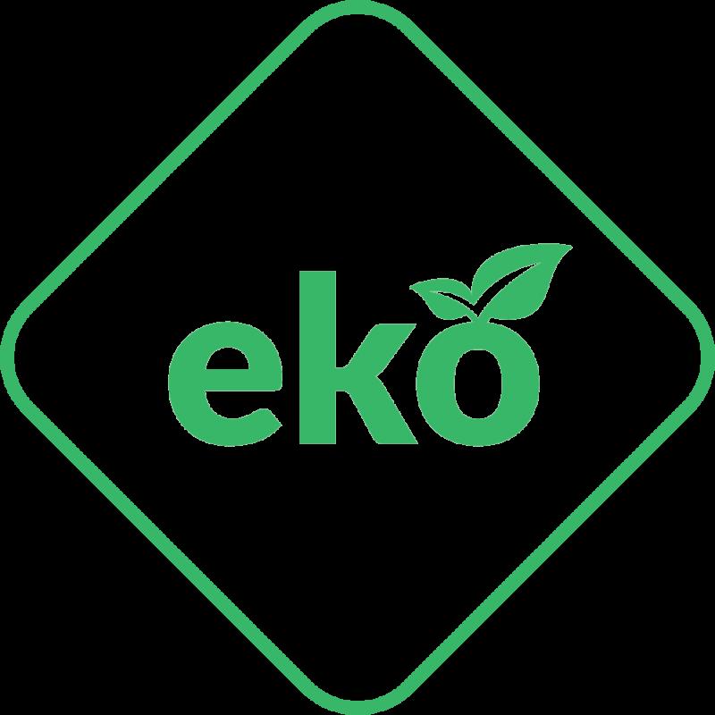 Soba-semineu pe lemn din fonta K9 10 kW cu ventilator - sigla EKO