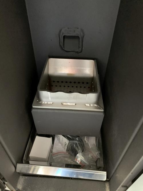 Centrala termica pe peleti ROSSI CAMINO COMPACT 35 kW - vedere interioara