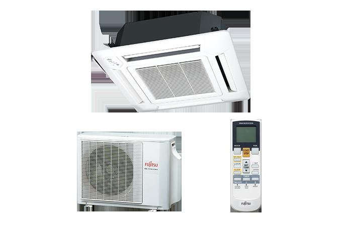 Echipament de climatizare tip caseta FUJITSU AUYG12LVLB/AOYG12LALL 12000 BTU