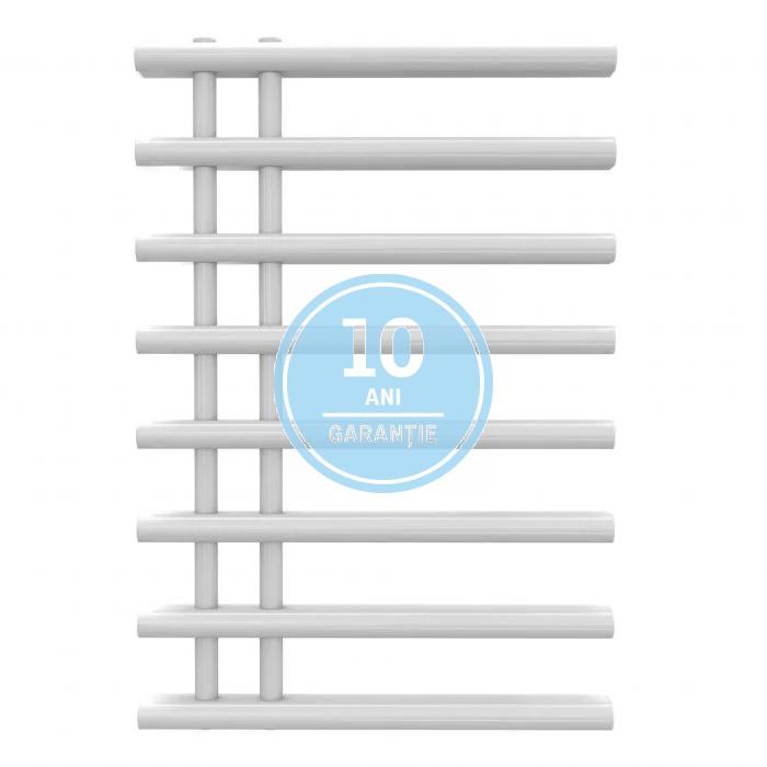 Radiator port-prosop decorativ alb RADOX LINX - vedere din fata