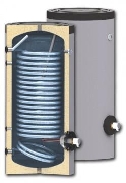 poza Boiler cu serpentina marita pentru instalatii cu pompe de caldura model SWPN 500