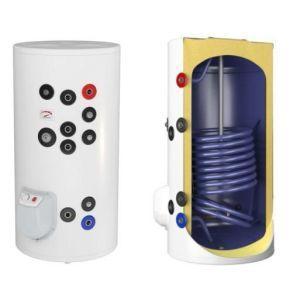 poza 2.292 Lei Boiler termoelectric emailat cu o serpentina Eldom Green Line - 300 litri