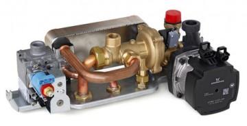 Poza Centrala termica pe gaz condensatie ARCA PIXEL FC - grup hidraulic