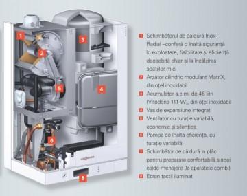 poza Centrala termica pe gaz in condensatie Vitodens 111-W 26 kW