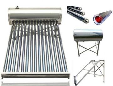 poza Panou solar Q Solar Premium nepresurizat boiler INOX 100 litri 10 tuburi