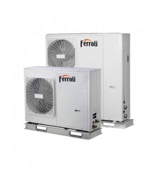 poza Pompa de caldura aer-apa reversibila Ferroli RVL-I PLUS 14 T - 14 kW