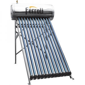poza Panou solar presurizat EcoHeat 120 cu 12 tuburi si boiler inox 120 L