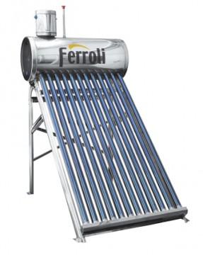 poza Panou solar Ecosole cu 18 tuburi vidate si boiler nepresurizat 180 L