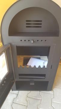 Poza Termosemineu AQUA PLUS 14 kW - vedere din fata