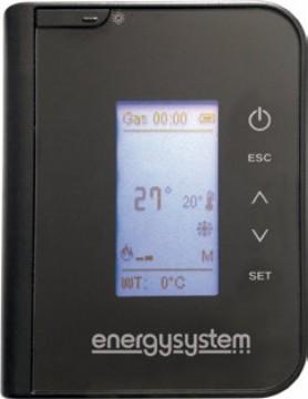 Poza Termosemineu pe peleti tip insert Primo 30 - termostat si telecomanda