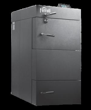 poza Centrala termica pe lemn cu gazeificare FERROLI CGF 25 kW