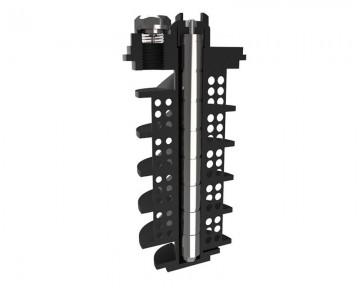 Poza Filtru dual pentru impuritati magnetice si nemagnetice CENTRAMAG 2 DN 22 mm - detaliu element de filtrare