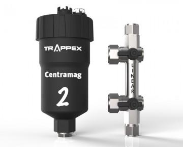 poza Filtru dual pentru impuritati magnetice si nemagnetice CENTRAMAG 2 INLINE DN 22 mm