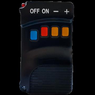 Poza Centrala termica pe peleti FORNELLO KING 40 kW - telecomanda