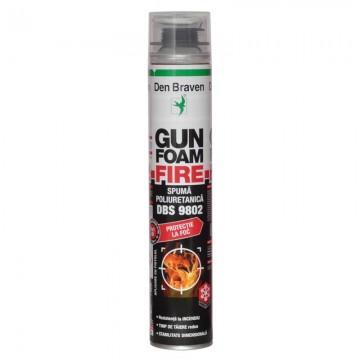 Poza Spumă poliuretanică ignifugă Den Braven Gun Foam Fire DBS 9802 700 ml