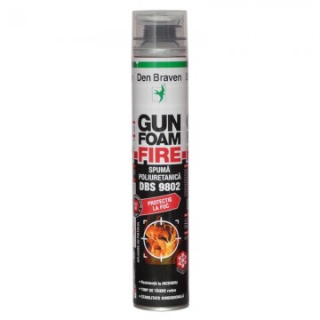 poza Spuma poliuretanica ignifuga Den Braven Gun Foam Fire DBS 9802 700 ml