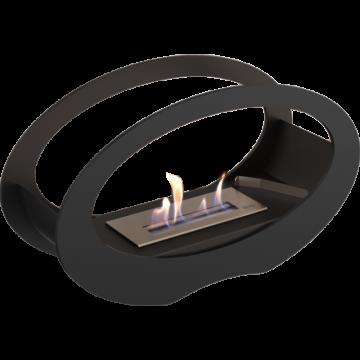 Poza Semineu cu bioetanol portabil ECHO TUV negru