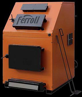 poza 21.704 Lei Centrala termica pe lemn Ferroli FSB 3 MAX - 300 kW cu trei drumuri de fum