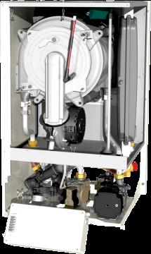 Poza Centrala termica pe gaz Motan MKDENS 35 TERMOV - vedere interioara