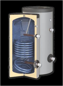 poza Boiler de apa calda cu acumulare SUNSYSTEM SN 200 1S