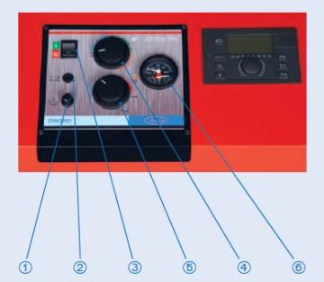 Poza Centrala termica pe lemn cu gazeificare ATTACK 75 DP STANDARD