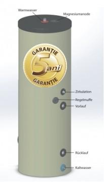 Poza  Boiler pentru preparare apa calda cu o serpentina AUSTRIA EMAIL HT ERM