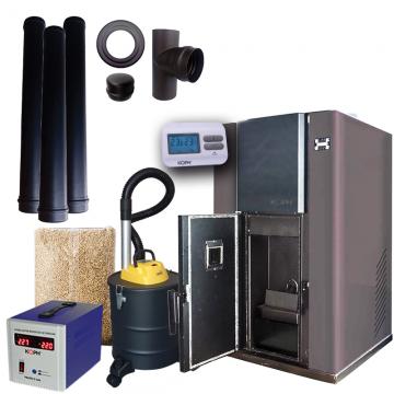 Poza Pachet promotional centrala termica pe peleti PM 35 kW