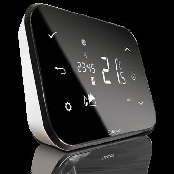 Poza Controler de temperatura conectat la Internet SALUS iT500 cu senzor de temperatura cu radiofrecventa - termostat