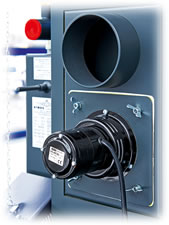Poza Centrala termica pe lemn cu gazeificare ATMOS - ventilator de exhaustare gaze arse