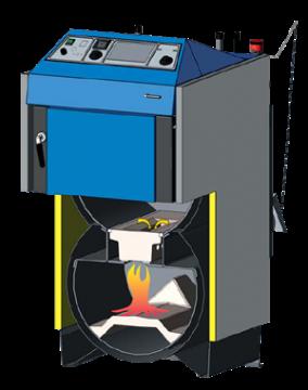 Poza Schema functionala centrale termice ATMOS - tip DC30SX, DC32S, DC40SX