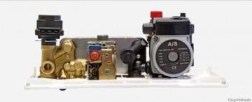 Poza Centrala termica pe gaz ARCA PIXEL 25F - grup hidraulic cu vana cu 3 cai actionata electric