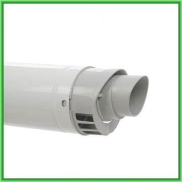 Poza Kit de evacuare coaxial pentru centrale termice in condensare Motan - detaliu cap terminal