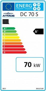 Poza Centrala termica pe lemn cu gazeificare ATMOS DC70S 70 kW - eticheta energetica