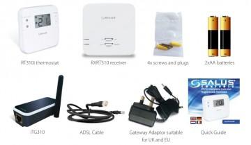 Poza Termostat ambiental cu radiofrecventa Salus RT310i controlat prin Internet - furnitura