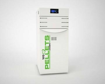 poza Centrala termica pe peleti LIDYA COMPACT 25 kW