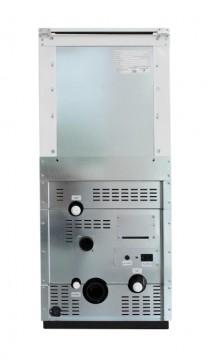 Poza Centrala termica pe peleti ROSSI CAMINO COMPACT 25 kW - vedere din spate